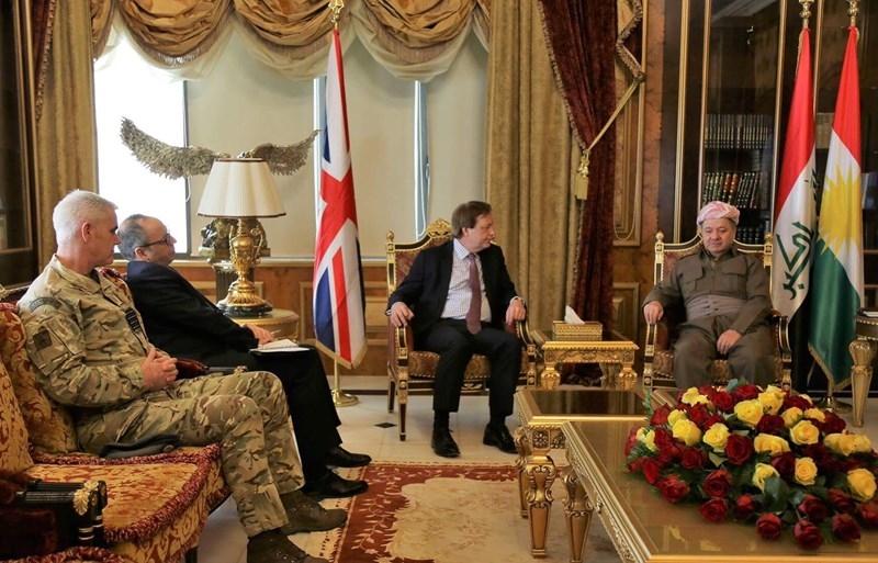Фрэнк Бейкер провел встречу с высшими должностными лицами Курдистана