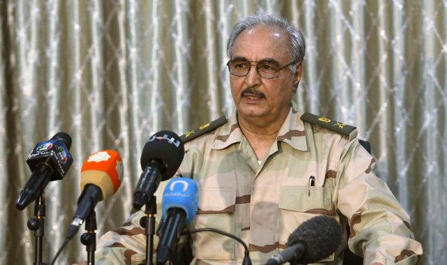 Халифа Хафтара генерал в отставке