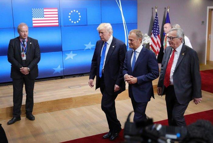 Trump Brussels