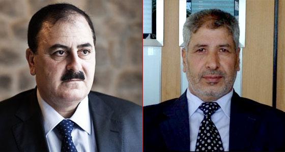 Справа Абд аль-Илях аль-Башир, слева Салим Идрис